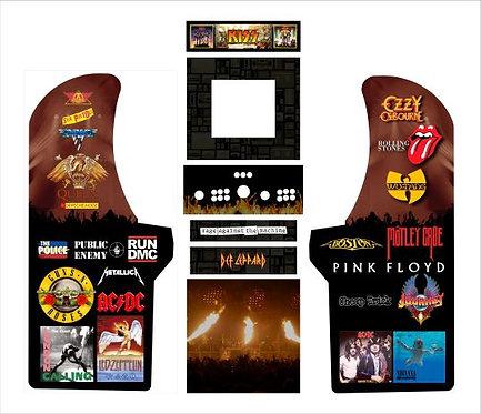 Classic Band Custom Upright Cabinet