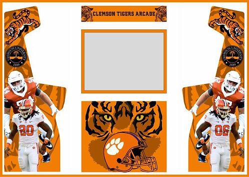 Clemson Tigers Upright Cabinet