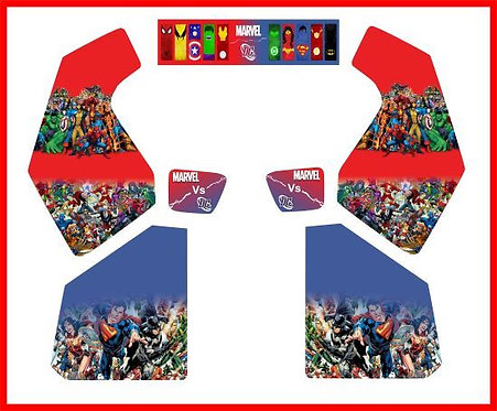 Marvel vs DC Upright Sitdown Cabinet