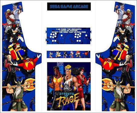 Sega Multicade Upright Cabinet