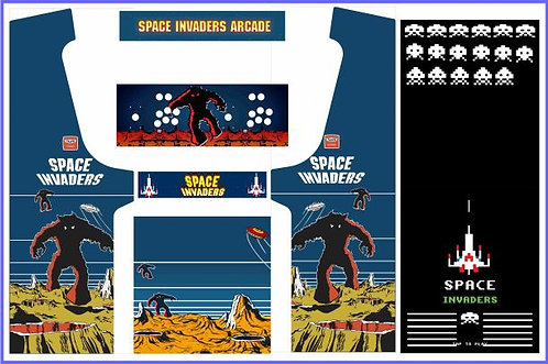 Space Invaders Upright Cabinet