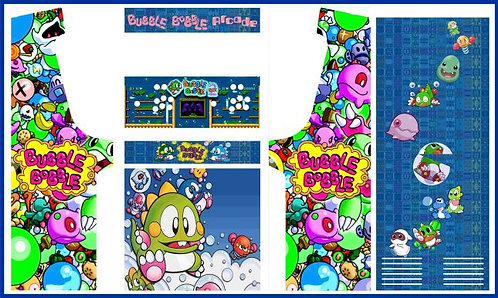 Bubble Bobble Upright Cabinet