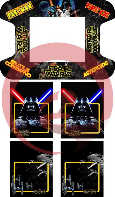 Star Wars Cocktail Cabinet