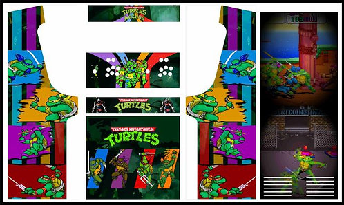 Turtles (TMNT) Upright Cabinet