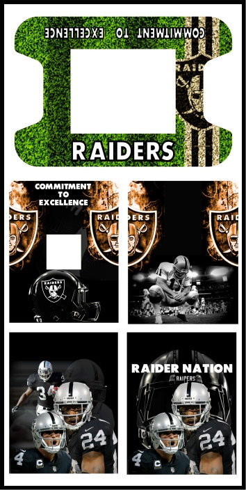 Raiders Cocktail Cabinet