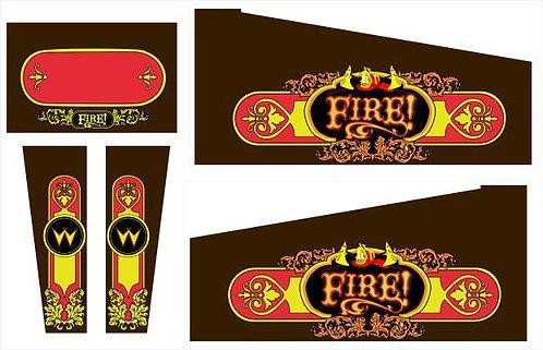 Fire Pinball Cabinet