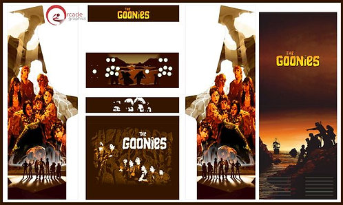 The Goonies Upright Cabinet