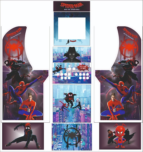 Spiderman Arcade1Up Cabient