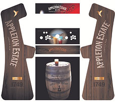 Barrel beer custom design