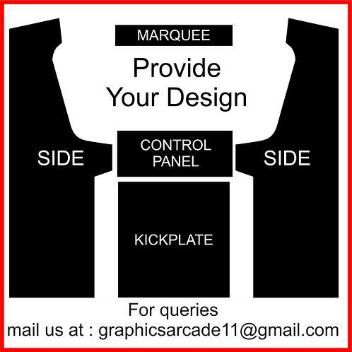 Customer Designed Geekpub Cabinet