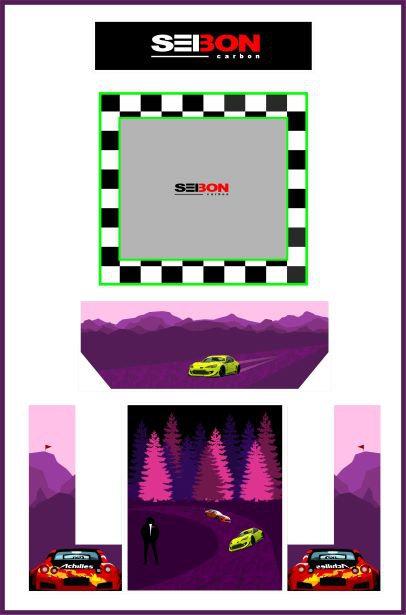 Seibon Car Bartop Cabinet