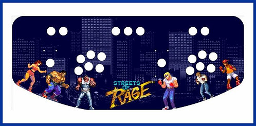 Streets of Rage Control Panel