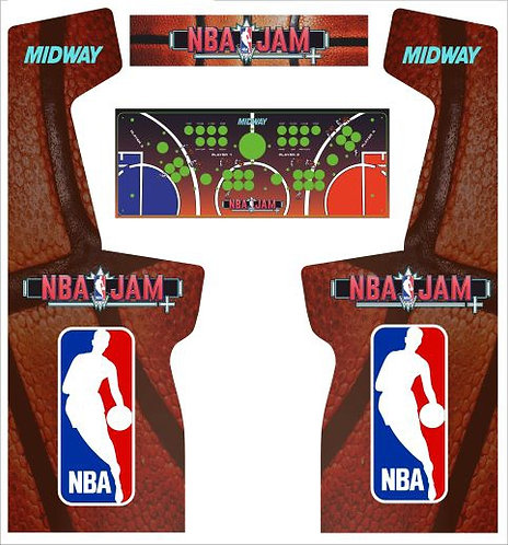 NBA Jam Upright Cabinet