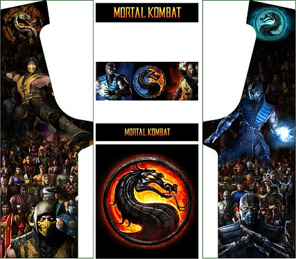 Mortal Combat Upright Cabinet