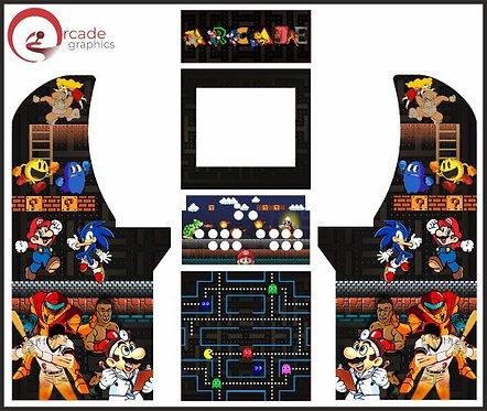Multicade (MAME) Arcade1up Cabinet