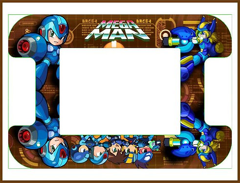 Mega Man Cocktail Cabinet