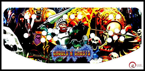 Ghouls 'n Ghosts Control Panel