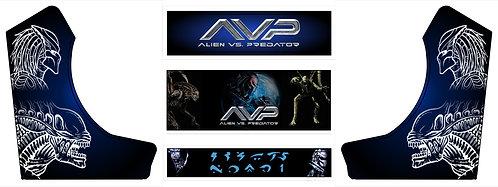 Alien vs Predator bartop arcade graphics and prints