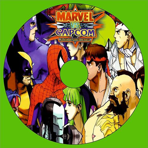 Marvel vs Capcom disk joystick