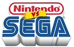 Sega vs Nintendo Artwork Design | Arcade Graphics