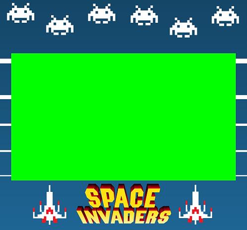 Space Invaders Bezel Screen