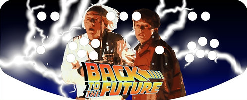 Back to the Future Control Panel