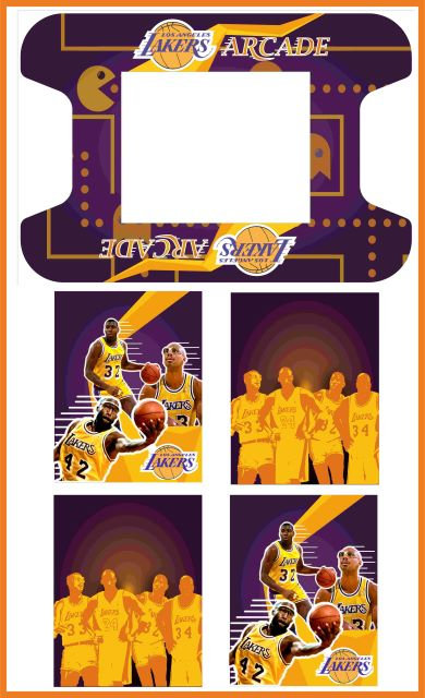 Los Angeles Lakers Upright Cabinet