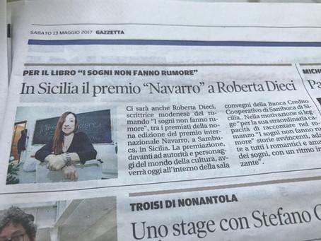 Premio speciale della giuria NAVARRO IX edizione