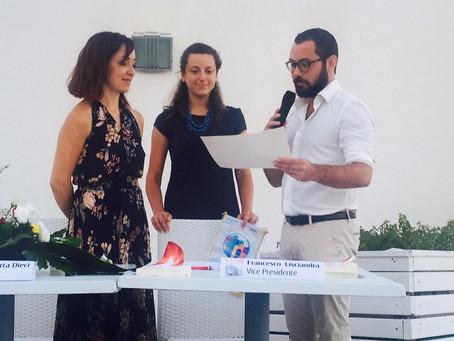 I sogni non fanno rumore ospite in Sicilia al Rotaract di Castelvetrano