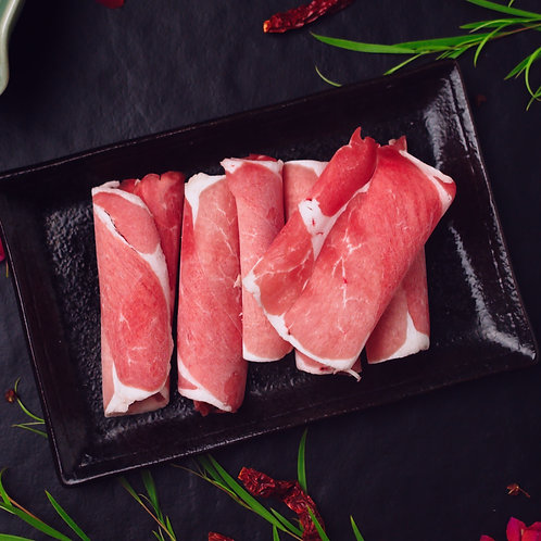 Kurobuta Pork Collar Slice 日本黑猪肩涮片