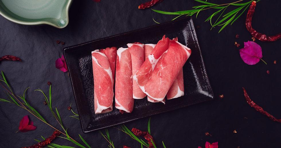 Kurobuta Pork Collar Slice 日本黑猪肩涮片.JPG