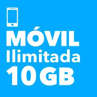 MÓVIL ILIMITADO 10 GB - AVA