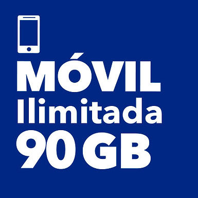 MÓVIL ILIMITADO 90 GB
