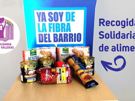 Hambre y Solidaridad no tienen vacaciones: recogida de alimentos