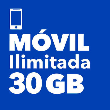 MÓVIL ILIMITADO 30 GB
