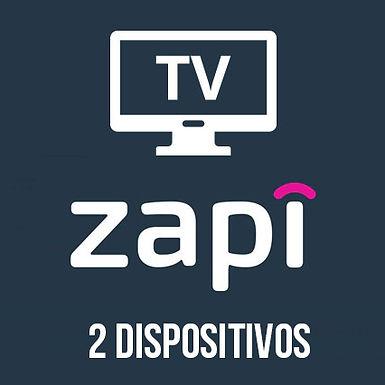 Zapi TV - 2 Dispositivos