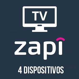 Zapi TV - 4 Dispositivos