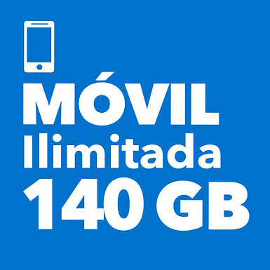 MÓVIL ILIMITADO 140 GB