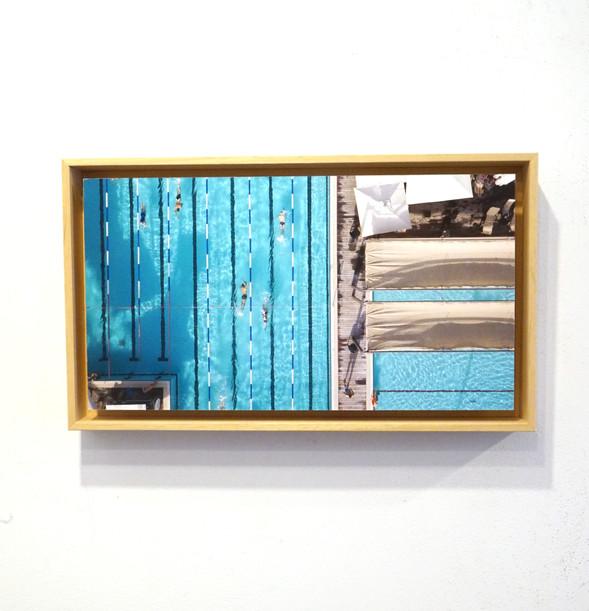 צילום - הדפסה פיין ארט - מסגרת צפה עם ניתוק ללא זכוכית