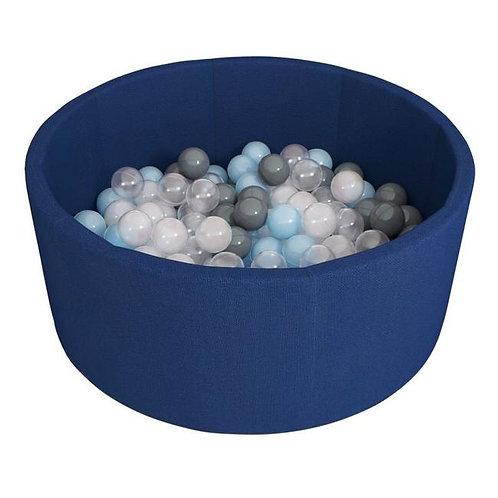 Сухой бассейн Синий + 250 шариков