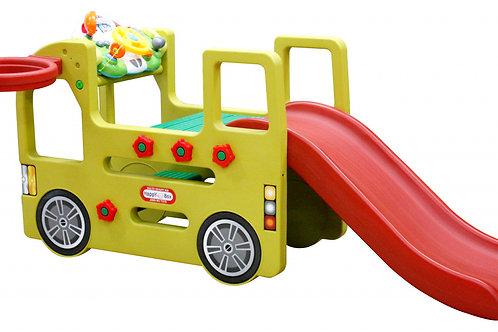 Горка-автобус happy box