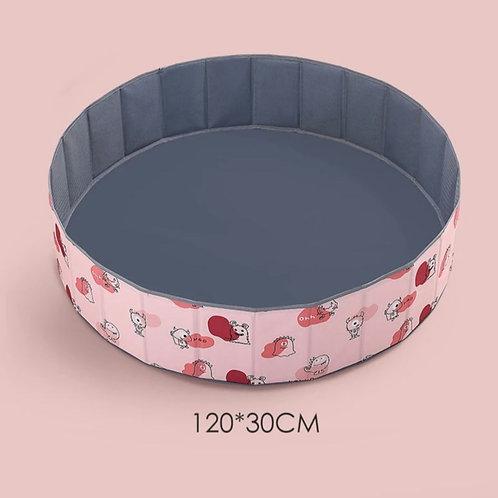 Сухой бассейн розовый