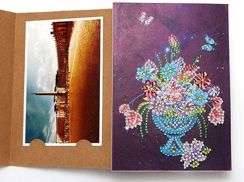 DP Photo album vase of flowers
