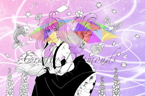 Galaxy by Dawnie Chan Art