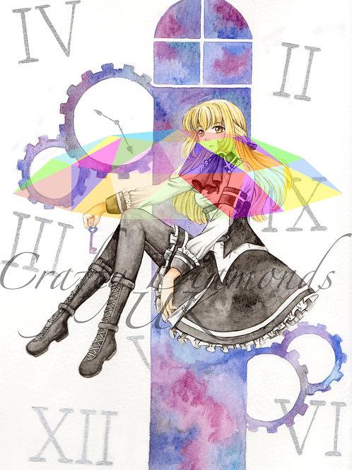Minako by Dawnie Chan Art