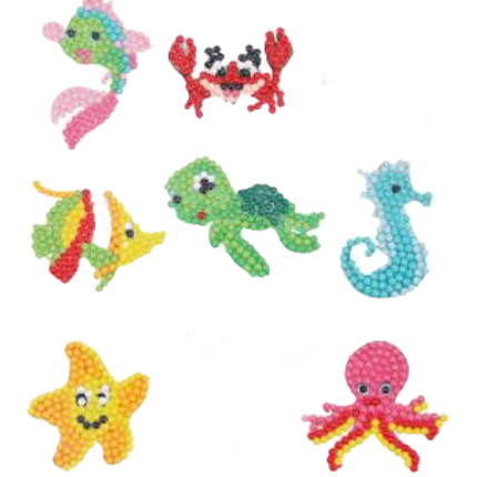 Ocean Creature stickers pack of 7