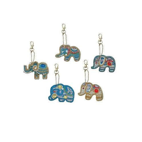 Elephants pack of 5