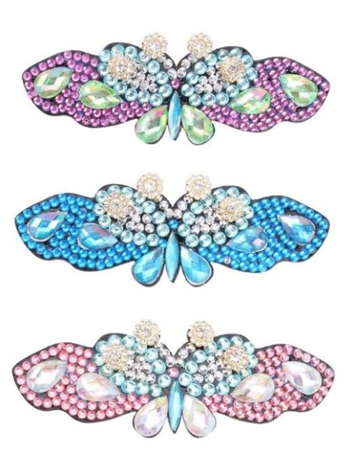 3pcs Hair clips butterfly