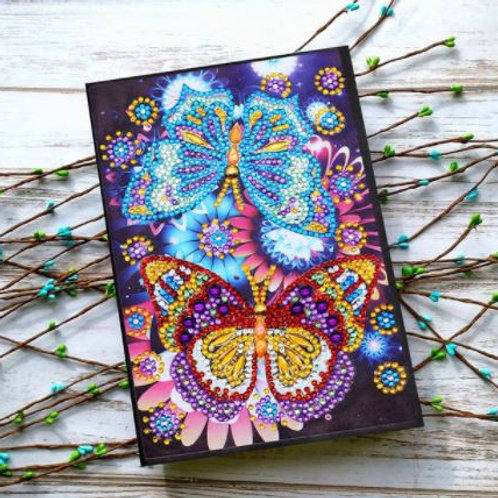 Two butterflies  notebook