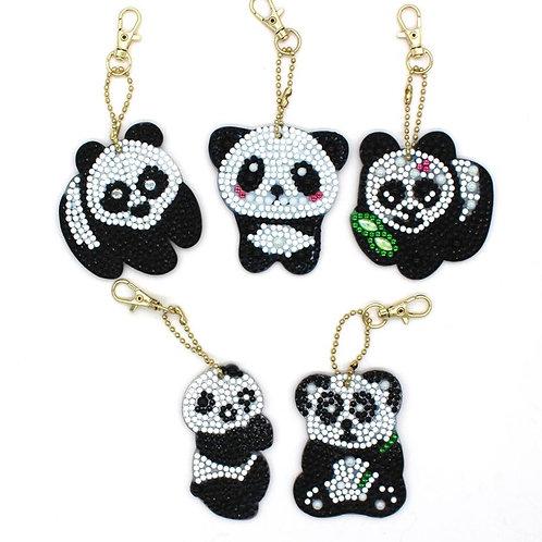 Panda bear set pack of 5